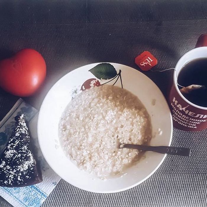 завтрак донора